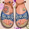 Design your toes with many manicure options, choice and colors. There is a good