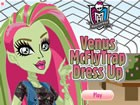 Venus McFlyTrap is the daughter of the plant monster. Her personality is like h