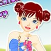 Here is this simple but entertaining online dress up game in which the girl wil