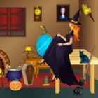 Here is a good chance to make your Witch Room by playing free room decor games