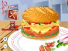 Hamburgers are the most famous food that you c...